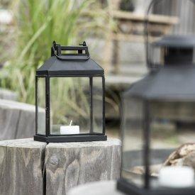 Lanterna oblunga con bordi neri