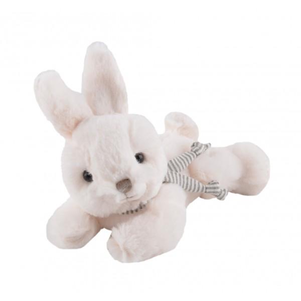Peluche Coco con sciarpa – Bianco