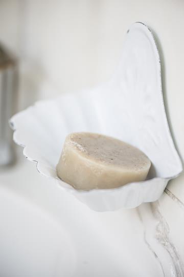 Porta sapone da appendere – Bianco