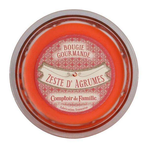 """Candela profumata """"Gourmet"""" Scorza di Agrumi"""