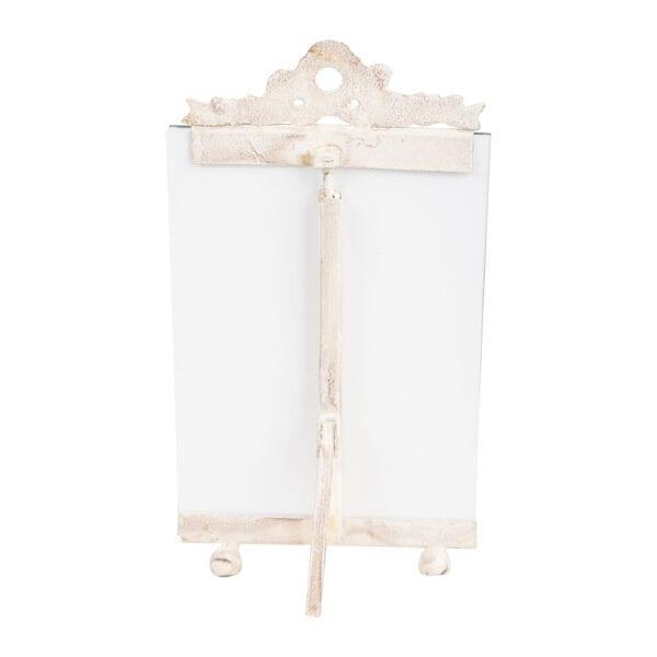 Cavalletto porta foto – Bianco antico