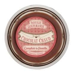 """Candela profumata """"Gourmet""""  Cioccolata calda"""