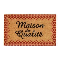 "Tappeto ""Maison de Qualitè"""