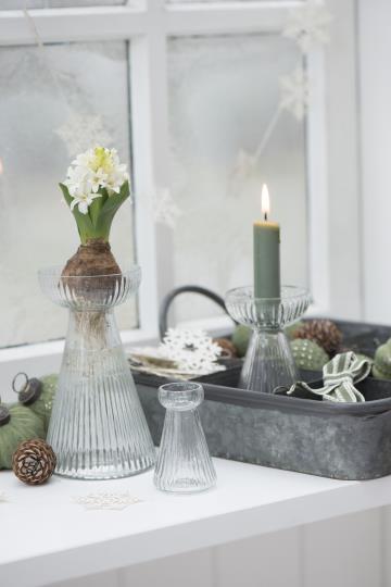 Set 6 candele corte – Verde tiglio