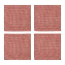 Set 6 Tovaglioli di cotone – Rossi