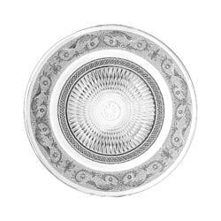 Piatto piano medio Trasparente – Classic