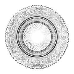 Piatto da pane Trasparente – Classic