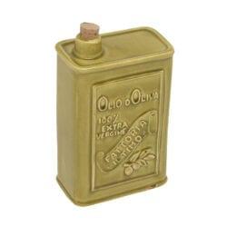 Lattina per Olio in ceramica – Verde