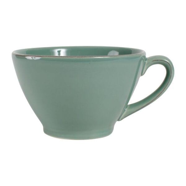 Ciotola con manico – Verde Salvia
