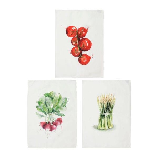 Canovaccio da cucina in cotone – Pomodoro