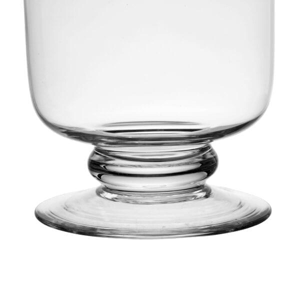 Vaso di vetro trasparente (Harle)