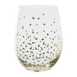 Bicchiere vetro (tumbler) – Collezione Scintille