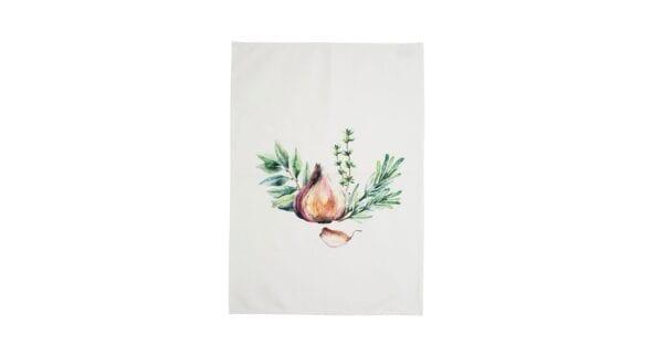 Canovaccio da cucina in cotone – Cipolla