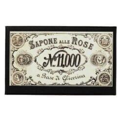Antico sapone alle Rose fatto a mano – 150gr