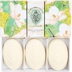 Cofanetto con 3 saponette – Acqua di Magnolia