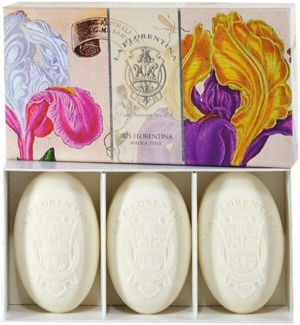 Cofanetto con 3 saponette – Iris Florentina
