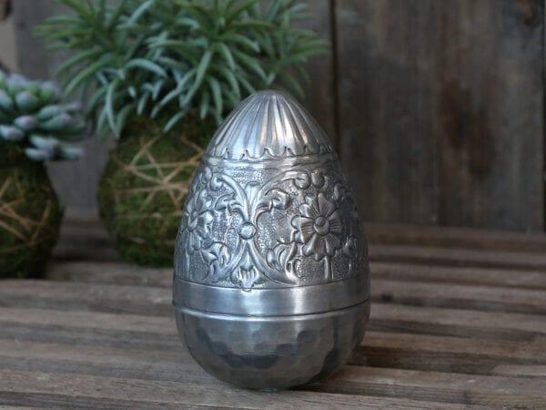 Scatola porta oggetti – Chicco d'uva in metallo