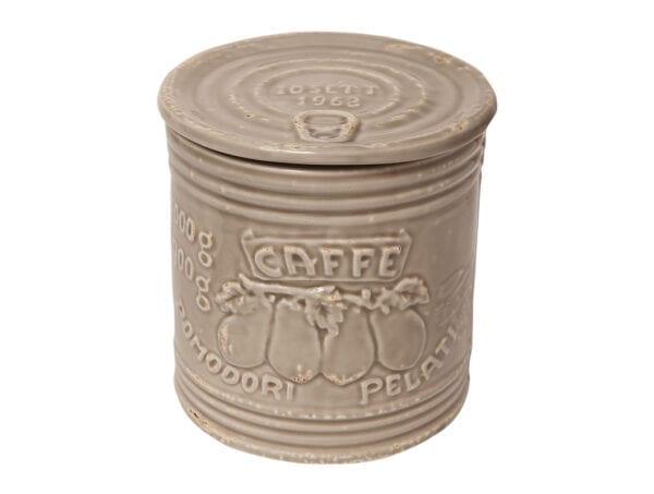 Barattolo per Caffé in ceramica – Argilla