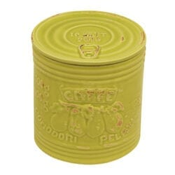 Barattolo per Caffé in ceramica – Verde