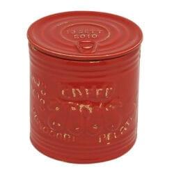 Barattolo per Caffé in ceramica – Rosso