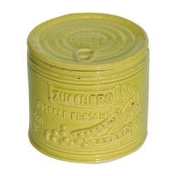 Barattolo per Zucchero in ceramica – Verde