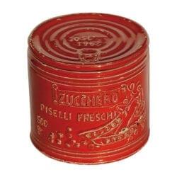 Barattolo per Zucchero in ceramica – Rosso