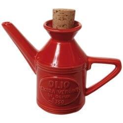 Ampolla Olio in ceramica – Rossa