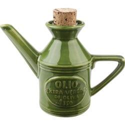 Ampolla Olio in ceramica – Verde