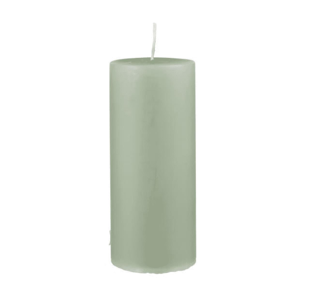 Candela pilastro grande – Verde Antico