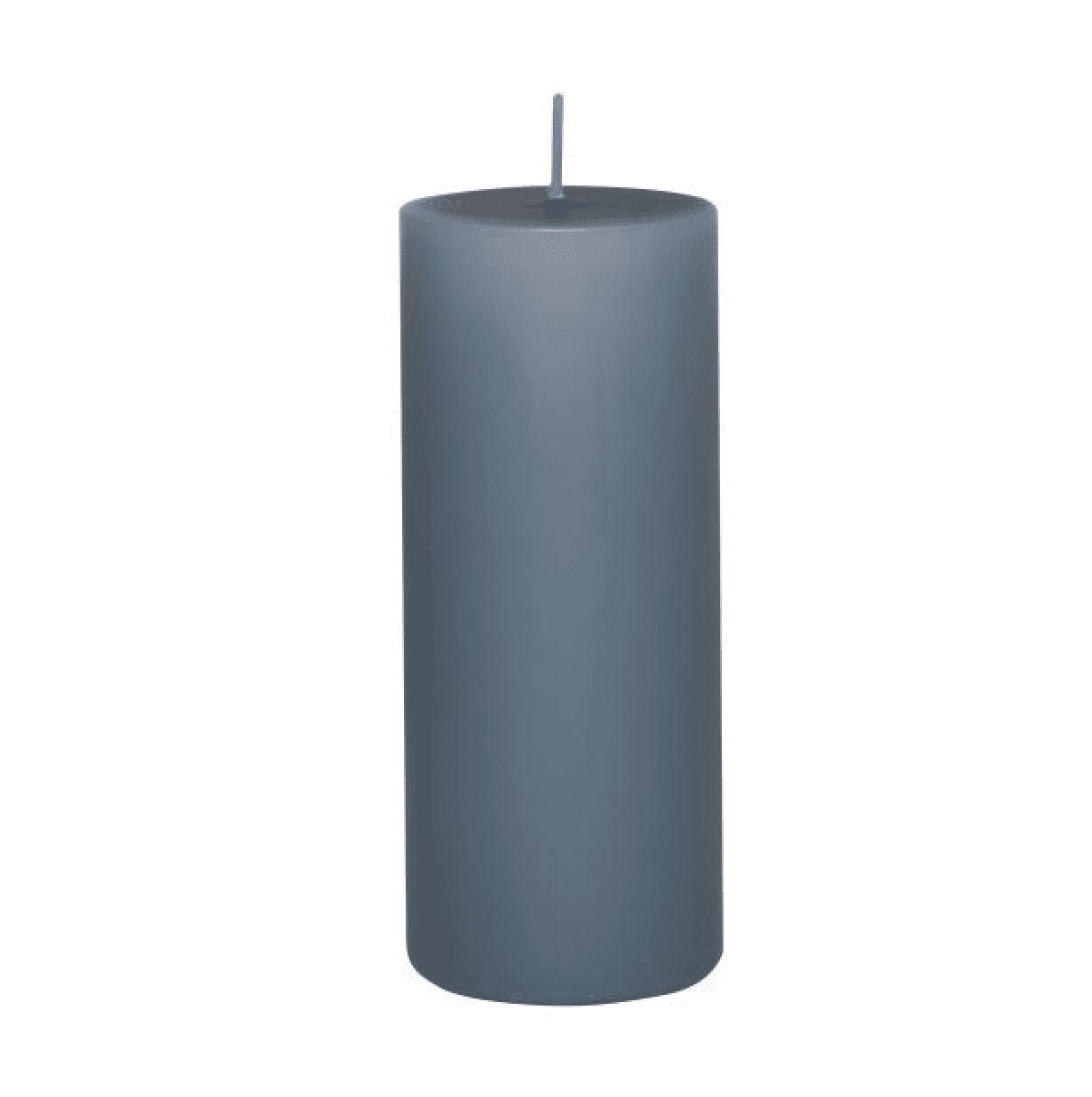 Candela pilastro grande – Blu