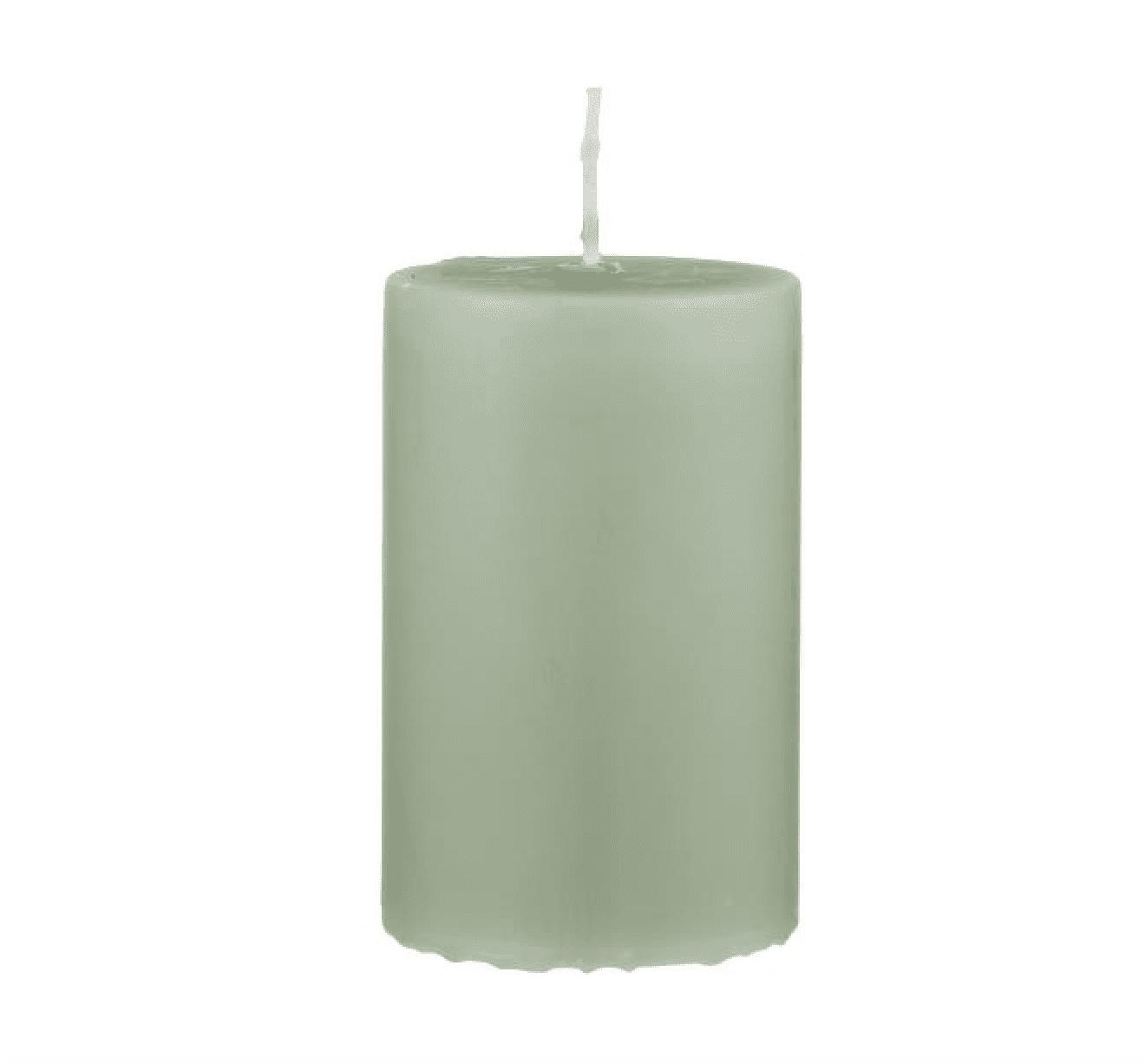 Candela pilastro media – Verde Antico