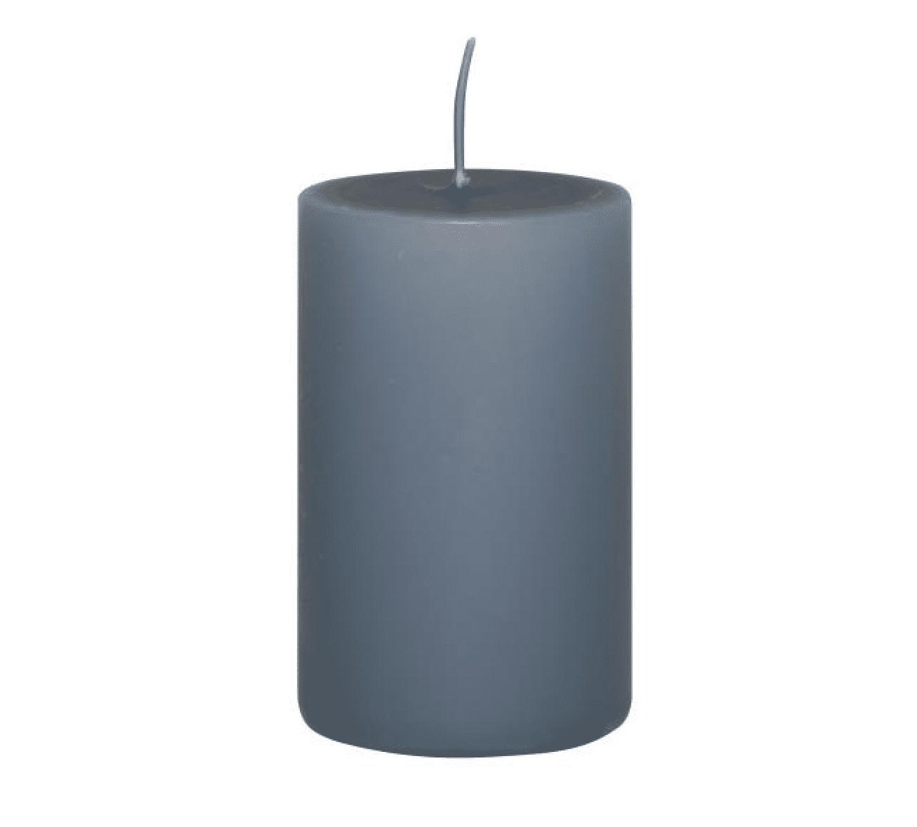 Candela pilastro media – Blu