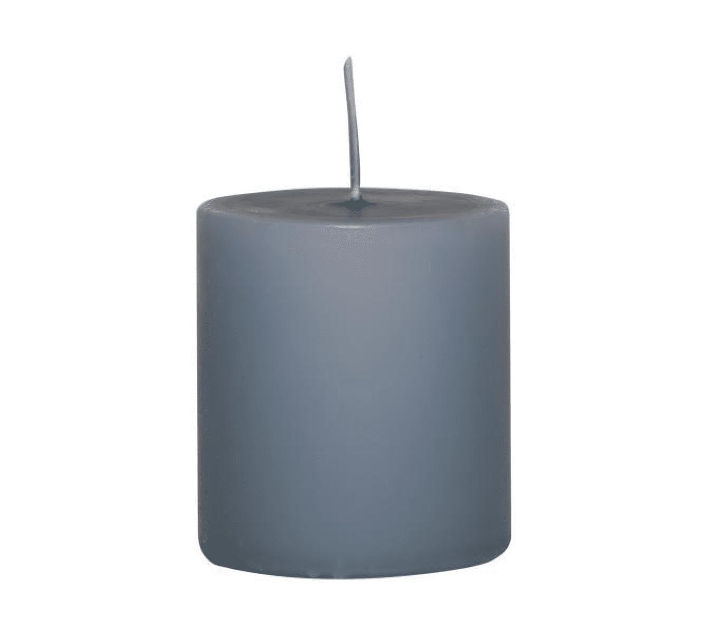 Candela pilastro piccola – Blu