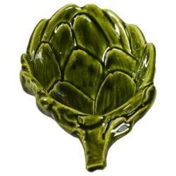 Piccolo recipiente per codimenti in ceramica- Verde