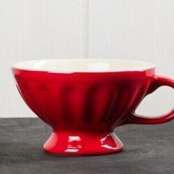 Tazza in ceramica – Rossa