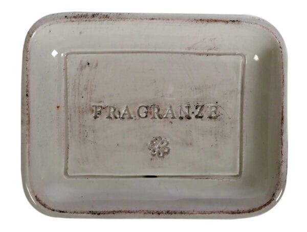 Porta sapone in ceramica – Corda