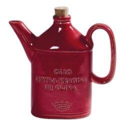 Ampolla per Olio in ceramica – Rosso