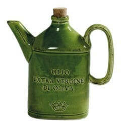 Ampolla per Olio in ceramica – Verde