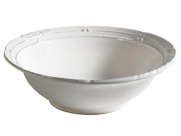 Insalatiera in ceramica – Bianco
