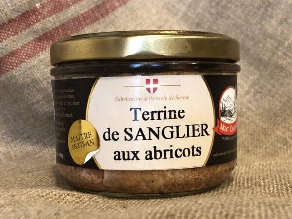Terrine de Sanglier aux Abricots – 190gr