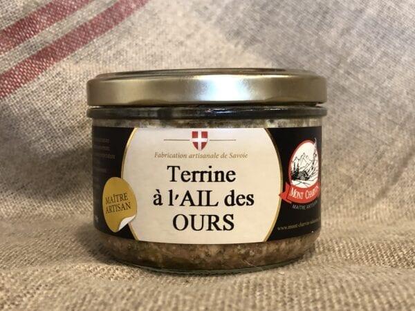 Terrine à l'Ail Des Ours – 190gr
