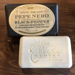 Saponetta al Pepe Nero ed Olio EVO – 275gr