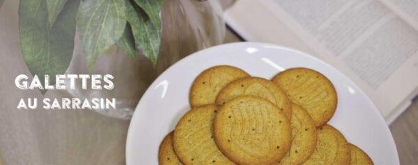 Biscotti Galettes au sarrasin (grano saraceno)