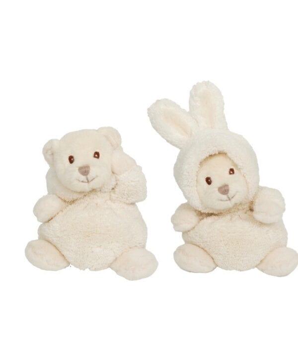 Peluche Ziggy (coniglio/orso) – Bianco