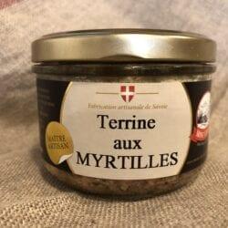 Terrine aux Myrtilles – 190gr