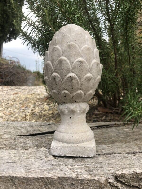 Pigna grigio chiaro in cemento
