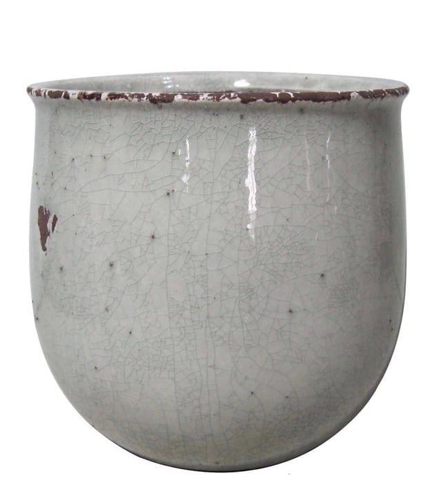 Vaso in ceramica craquele