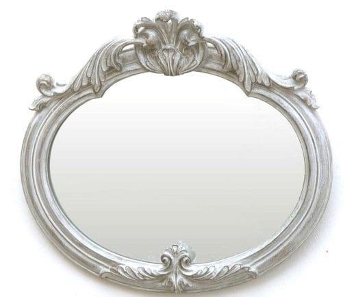Piccolo specchio – Grigio Chiaro