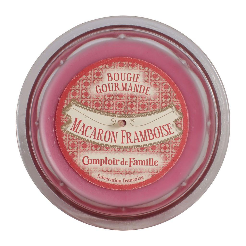 Candele Gourmet – Macoron ai lamponi