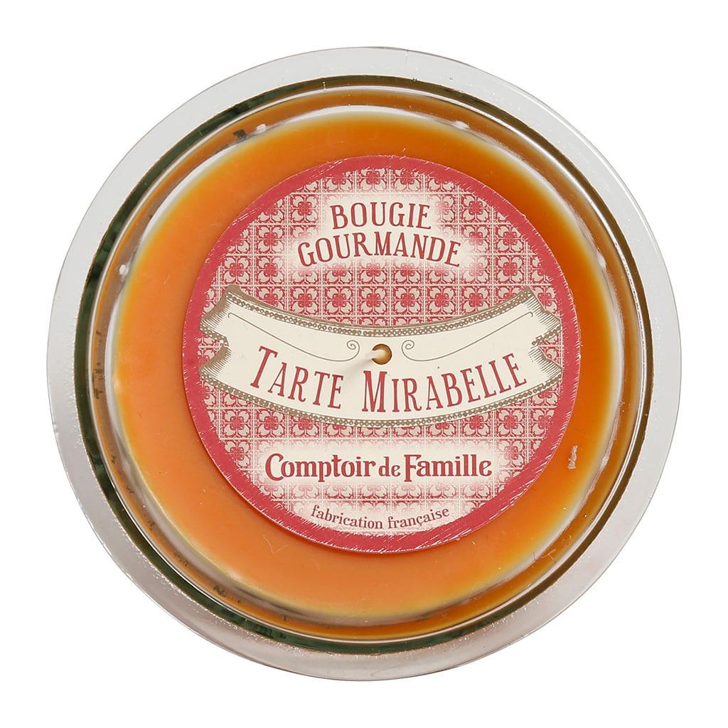 "Candela profumata "" Gourmet ""Torta mirabelle"